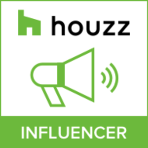 Houzz award badge for being a home design influencer