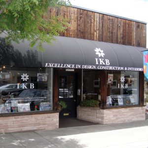 IKB's 346 Main Street Los Altos exterior photo of showroom from around 2018