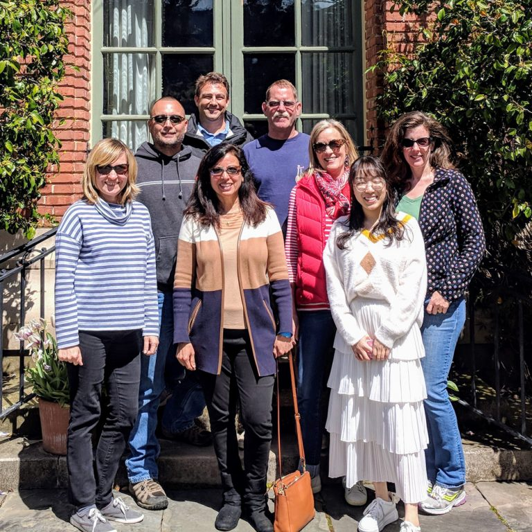 IKB team photo at our 2019 offsite at Filoli